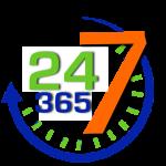 24:7 365